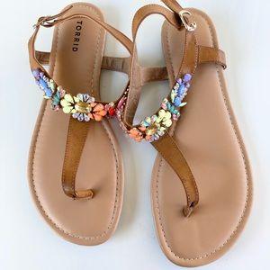 Torrid Blingy Sandals Size 11